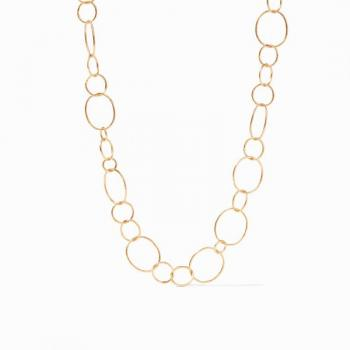 Julie Vos Colette Textured Necklace