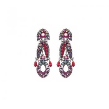 Ayala Bar Crimson Flame, Noa Earrings