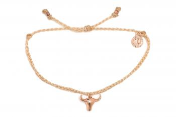 Rose Gold Bull Head Bracelet
