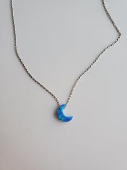 Blue Moon Sterling Silver Necklace