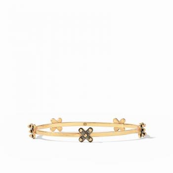 Julie Vos Soho Stacking Bangle - Mixed Metal - Medium