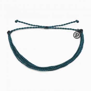 Pura Vida Solid Mediterranrean Green Original Bracelet