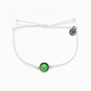 Pura Vida Mood Charm Bracelet in White