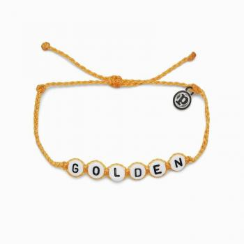 Pura Vida Golden Word Bracelet