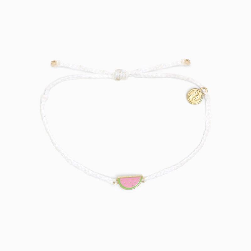 Pura Vida Watermelon Charm Bracelet