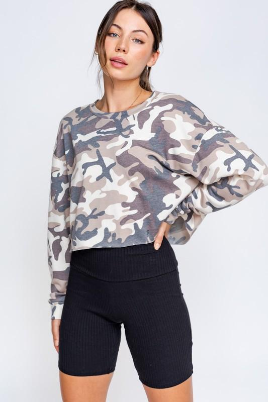 Long Sleeve Oversized Pullover