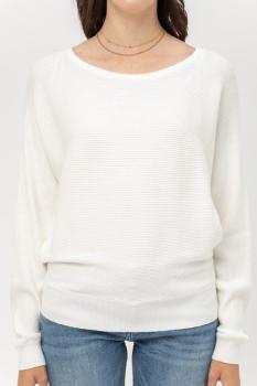 Ribbed Cowl Sweater