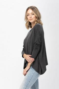 Oversized Long Sleeve Top