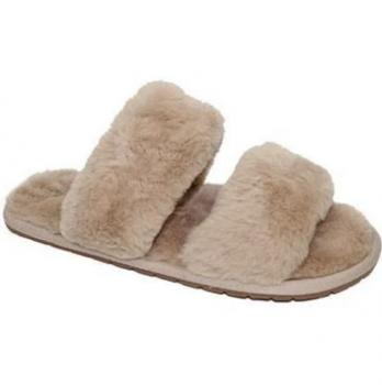 FUZZY SLIDES WITH STRAPS