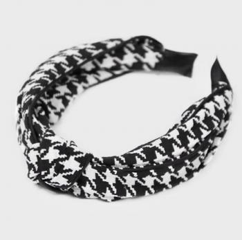 Checkered Twist Headband