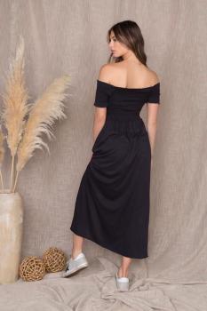 Shoulder Slit Dress
