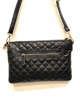large quilted rectangular clutch