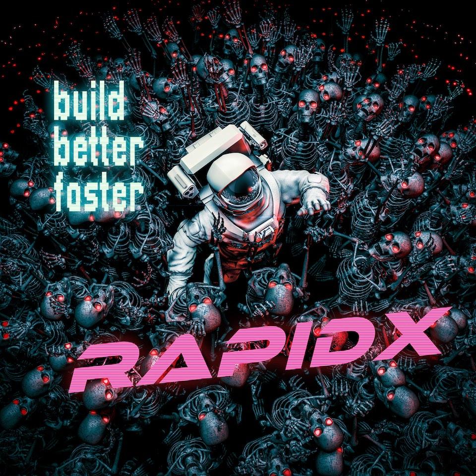 RapidX  t-shirt astronaut small