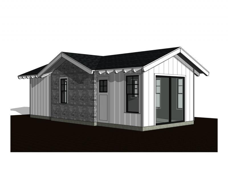 1 Bedroom Exterior B