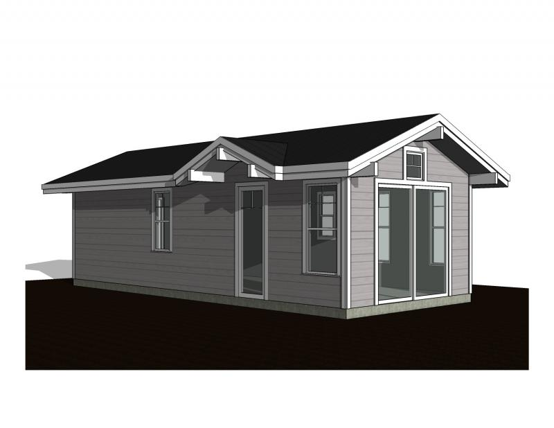 1 Bedroom Exterior C
