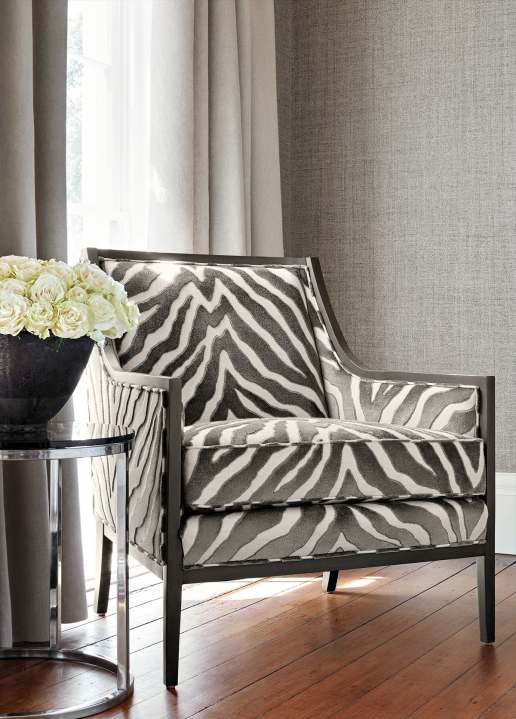 Blog THibaut Gray fabric