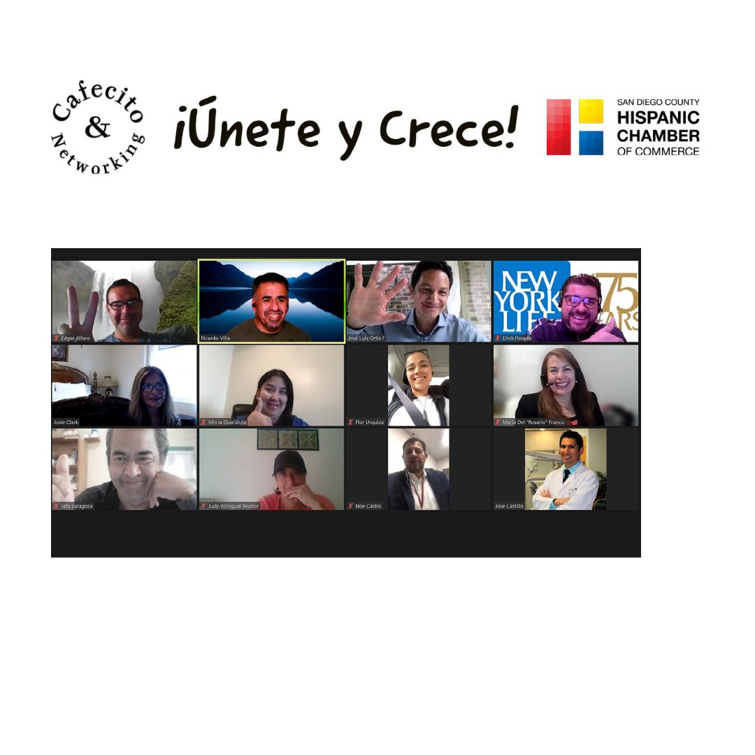 Cafecito y Networking Espanol - Cada Miercoles