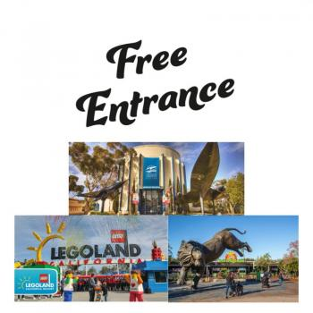 FREE Admission for Kids to San Diego Zoo, Air & Space Museum and More Kids 12 and under Free Admission