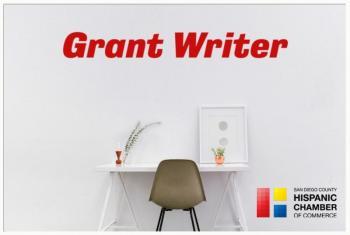 Job Opportunity - Grant Writer