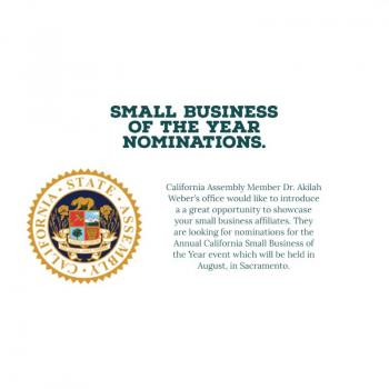 Small Business of the Year Nominations - Assembly District 79