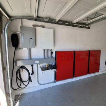 Smith Electric Installs Tesla Powerwalls